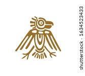 maya bird  fantastic animal...   Shutterstock .eps vector #1634523433