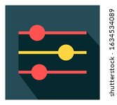 equalizer flat icon vector   ui ...