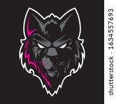 wolf head logo. great for...   Shutterstock .eps vector #1634557693