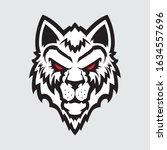 wolf head logo. great for...   Shutterstock .eps vector #1634557696