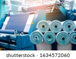 Rolls Of Industrial Cotton...