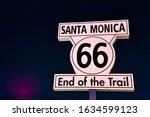 Santa Monica Sign   66 Sign  ...