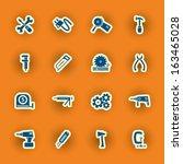 vector homebuilding and... | Shutterstock .eps vector #163465028