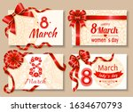 happy womens day 8 march...   Shutterstock .eps vector #1634670793