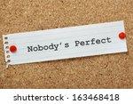 The Phrase Nobody's Perfect...