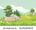 vector illustration of a... | Shutterstock .eps vector #1634689603