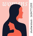 women's day campaign poster... | Shutterstock .eps vector #1634771203