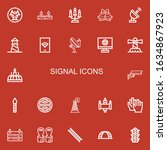 Editable 22 Signal Icons For...