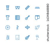 Editable 16 Violin Icons For...