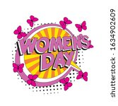 Holiday Text 'women's Day' In...