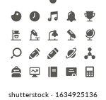 school subjects ui pixel...