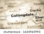 Collingdale On A Geographical...