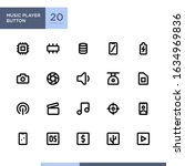 smartphone specification icon...