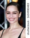 Small photo of London, United Kingdom- February 2, 2020: Emilia Clarke attends the British Academy Film Awards at the Royal Albert Hall in London, UK.
