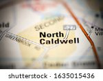 North Caldwell on a geographical map of USA
