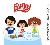 family illustration  | Shutterstock . vector #163503278