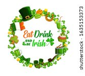 Eat And Drink As Irish On St....