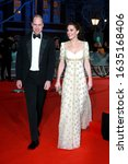 Small photo of London, United Kingdom-February 2, 2020: Catherine, Duchess of Cambridge and Prince William, Duke of Cambridge attends the British Academy Film Awards at the Royal Albert Hall in London, UK.