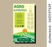agriculture brochure design...   Shutterstock .eps vector #1635197629