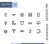 skate shop ui icon pack in...