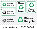 Please Recycling Sign For...