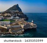 Rock Of Gibraltar's Europa...