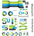 infographics design elements... | Shutterstock .eps vector #163535588