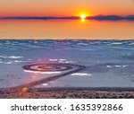 Sunset Over The Spiral Jetty  ...