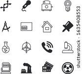 Technology Vector Icon Set Suc...