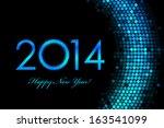 Vector 2014 Happy New Year...
