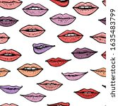 colorful seamless pattern with...   Shutterstock .eps vector #1635483799