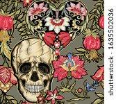 seamless pattern  background... | Shutterstock .eps vector #1635502036