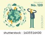 ecological illustration. the...   Shutterstock .eps vector #1635516430