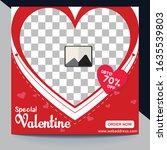 stylish social media ads  post  ... | Shutterstock .eps vector #1635539803