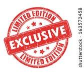exclusive stamp | Shutterstock .eps vector #163572458