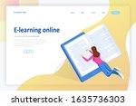 isometric concept for digital...   Shutterstock .eps vector #1635736303
