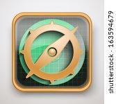 radar icon map marker for web...   Shutterstock .eps vector #163594679