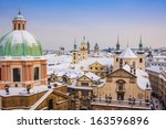 Prague In Winter  One Of The...
