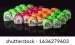 philadelphia california set...   Shutterstock . vector #1636279603