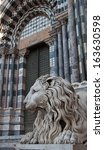 detail of city of genoa in italy   Shutterstock . vector #163630598