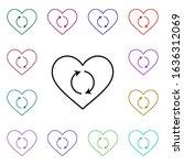 heart refreshment multi color...
