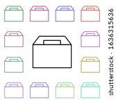 food  lunch box multi color...