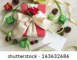 christmas goods   Shutterstock . vector #163632686