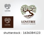 Love Tree Logo Template. This...