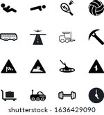 sport vector icon set such as ...   Shutterstock .eps vector #1636429090