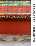 China Red Palace Wall And...