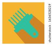 brush flat icon vector   ui...