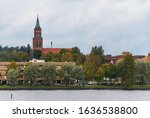 Savonlinna Cathedral is a landmark of Savonlinna. Savonlinna is a city in Finland in the Lake Saimaa region.