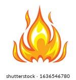 modern concept fire vector... | Shutterstock .eps vector #1636546780