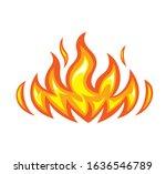 modern concept fire vector... | Shutterstock .eps vector #1636546789